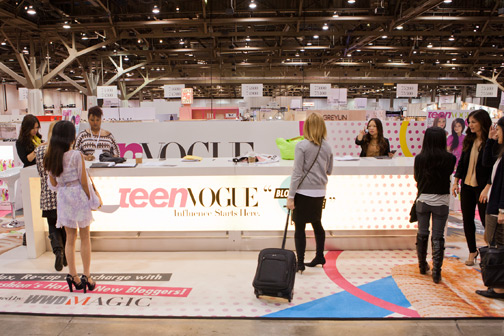 The Teen Vogue Blogger Lounge at WWDMAGIC