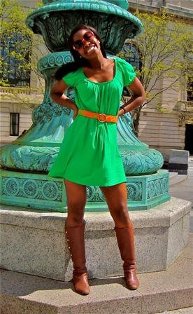 Yale University college fashionista, Zola