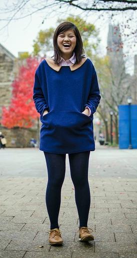 Yale student fashion