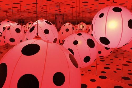 """""""Dots Obsession"""" by Yayoi Kusama"""