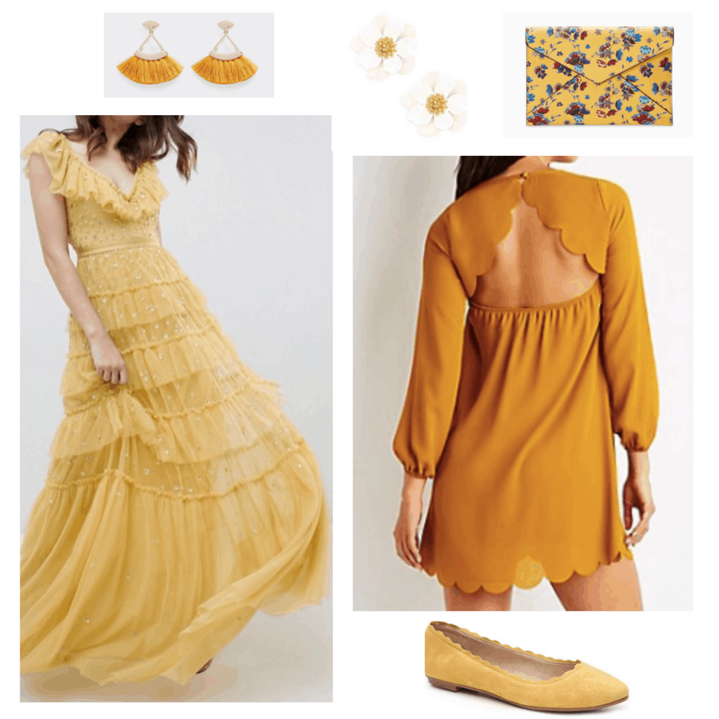 All Yellow Clothing and Accessories