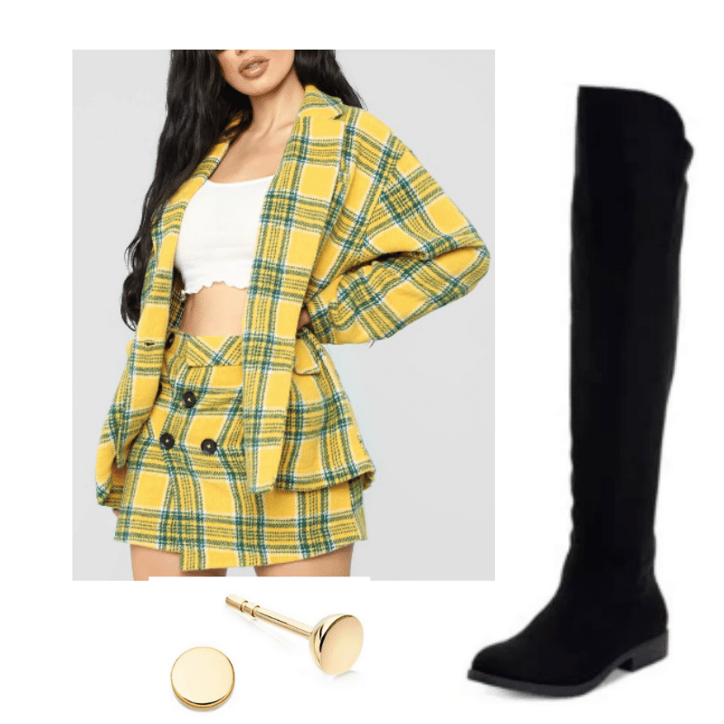 Cher inspired yellow outfit
