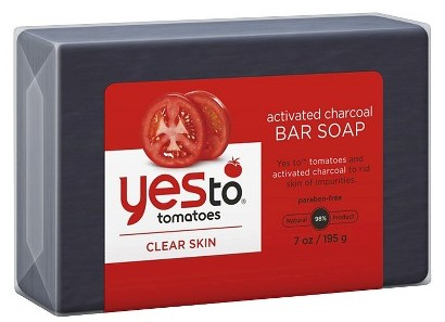 Yes to activated bar soap