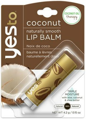 Yes to Coconuts lip balm
