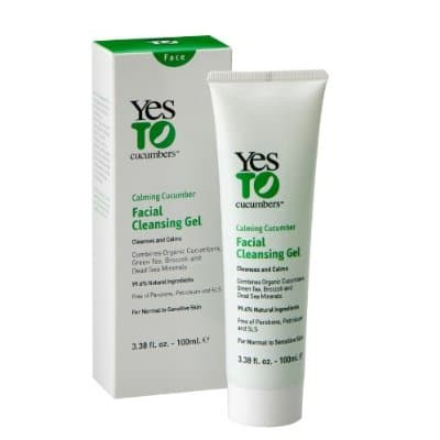 Yes to Cucumbers cleanser