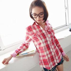 Yesstyle plaid shirt