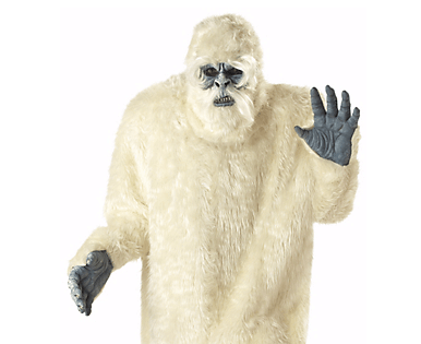 Yeti halloween costume idea