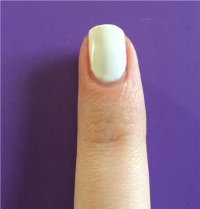 Ying Yang Nails: Step 1