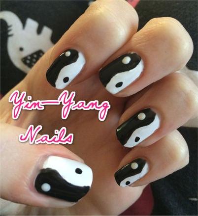 Ying Yang Nails