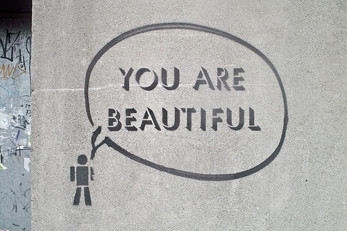 You are beautiful painting