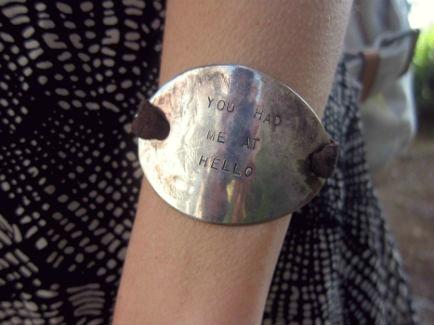 You had me at hello bracelet at cal poly san luis obispo
