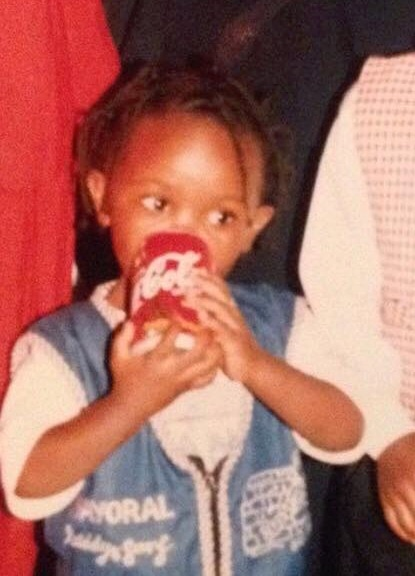Me being a G, drinking Coca-Cola