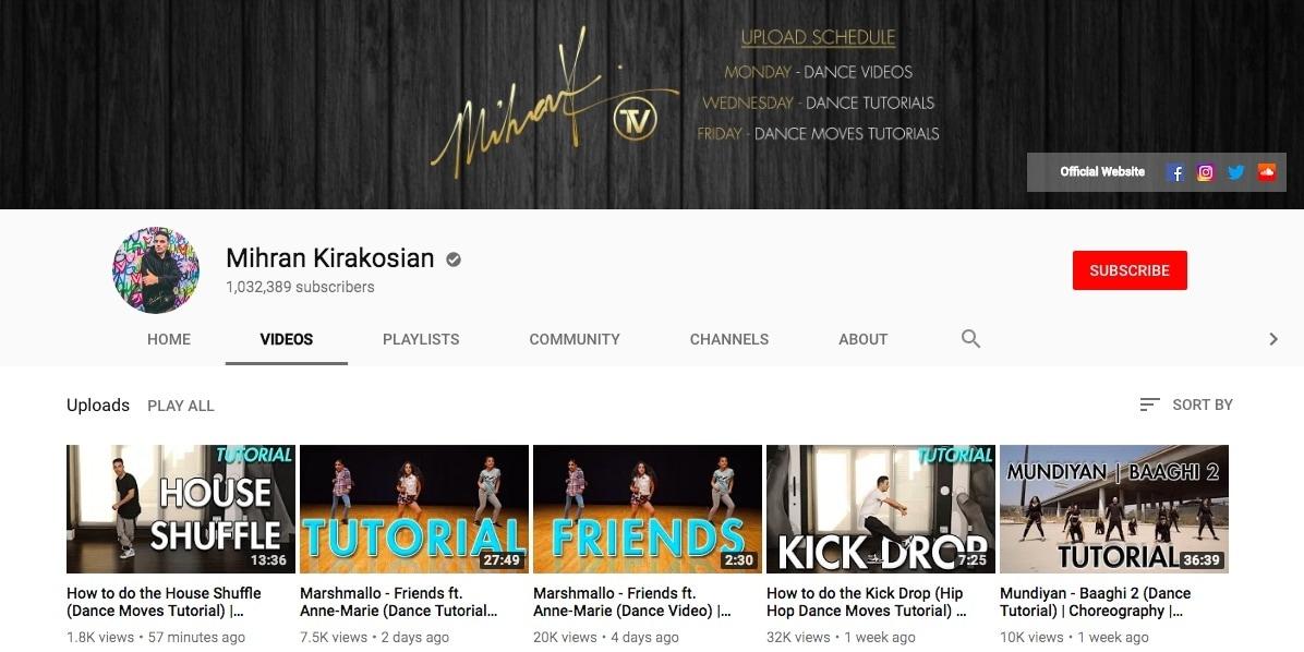 youtube-dance-tutorials