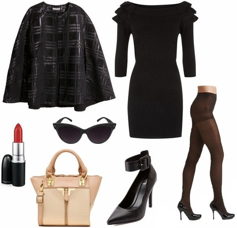 Zac Posen inspired outfit