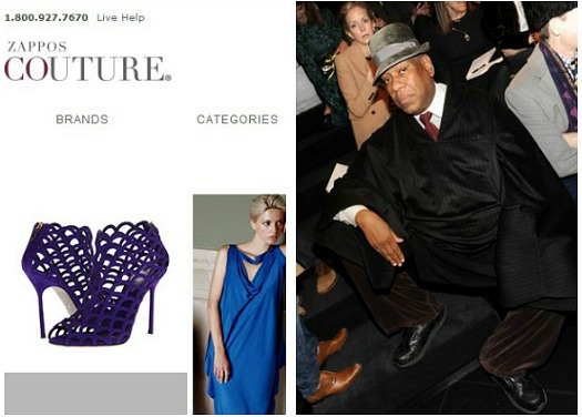 Zappos couture and andre leon talley