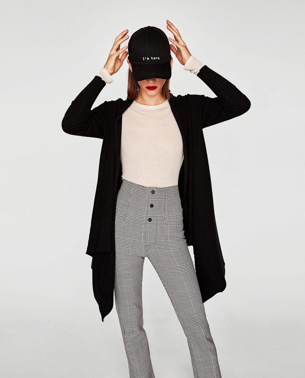 Zara cardigan in black