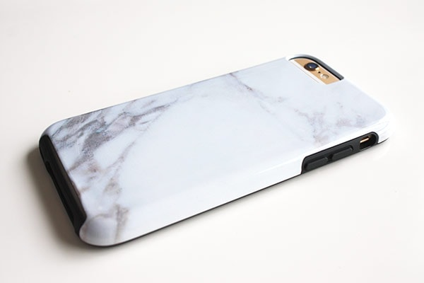 Zazzle marble iphone 6 case back