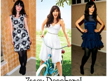 How to dress like Zooey Deschanel