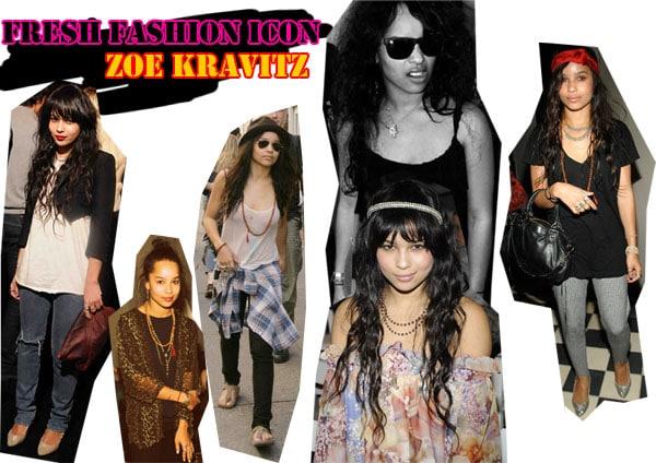 Zoe Kravitz - Fashion Icon