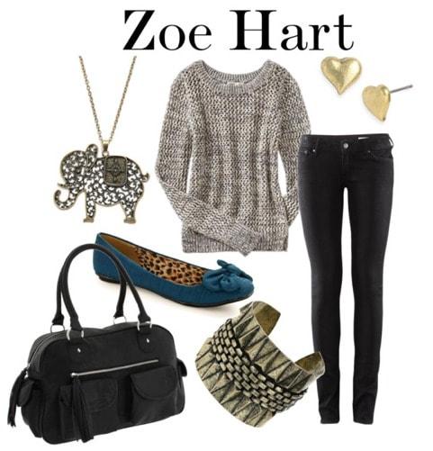 Zoe Hart Fashion 3