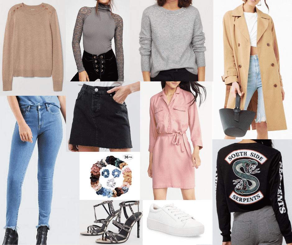 Betty's wardrobe