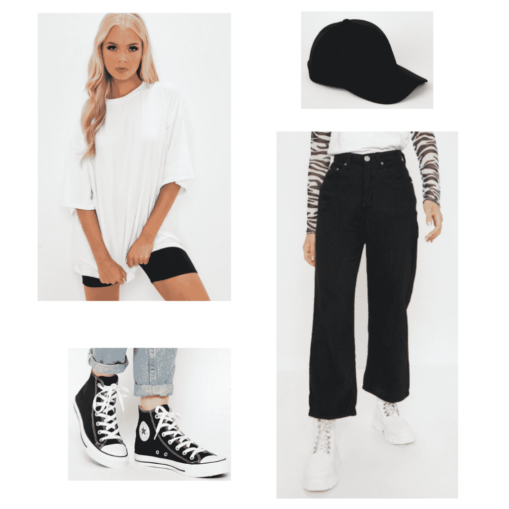 BTS RM Mono casual outfit