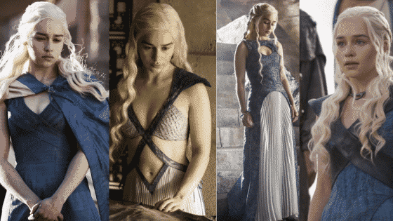 Daenerys Targaryen style - seasons 3 and 4 of Game of Thrones