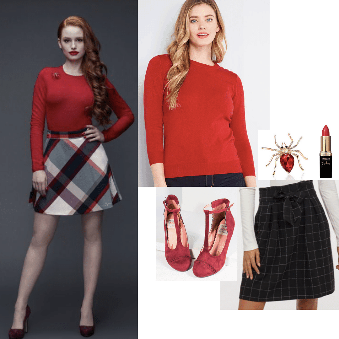 a guide to cheryl blossom's style on riverdale
