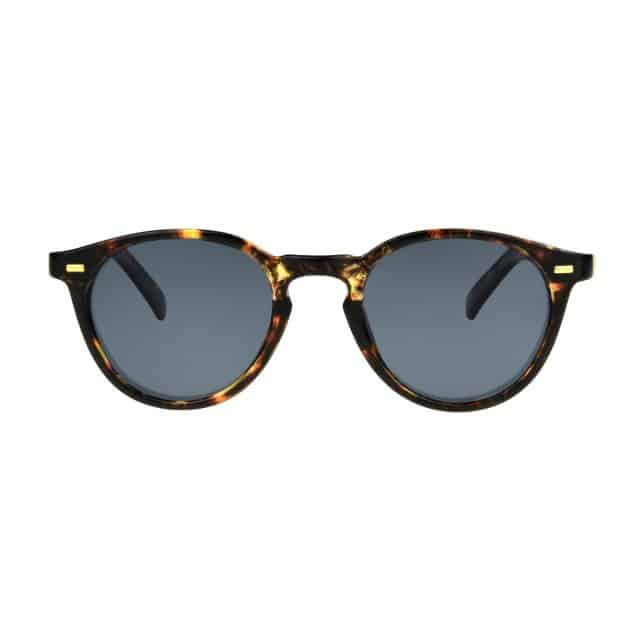 Brown marbled sunglasses