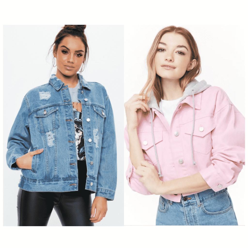 Jin BTS fashion - denim jackets