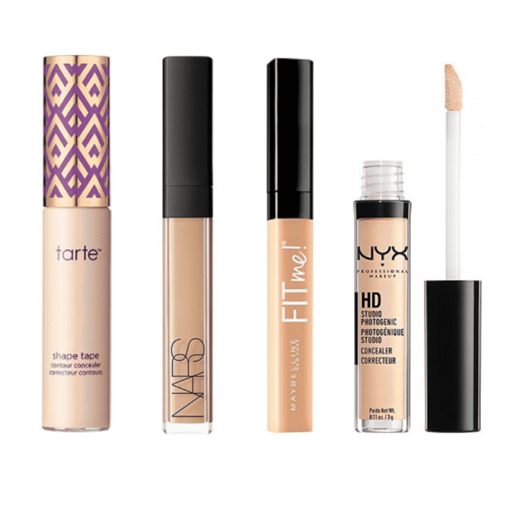 How to get the no makeup makeup look Concealer: Tarte Shape Tape Concealer, Nars Concealer, Maybelline Fit Me Concealer, NYX HD Studo Photogenic Concealer
