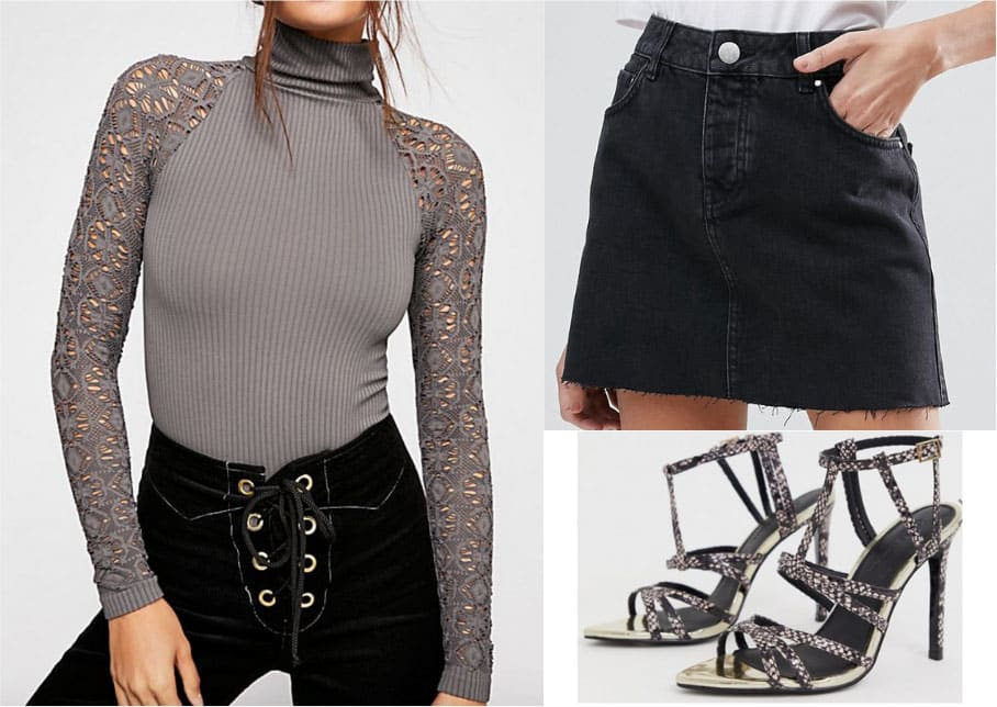 Dark betty cooper outfit