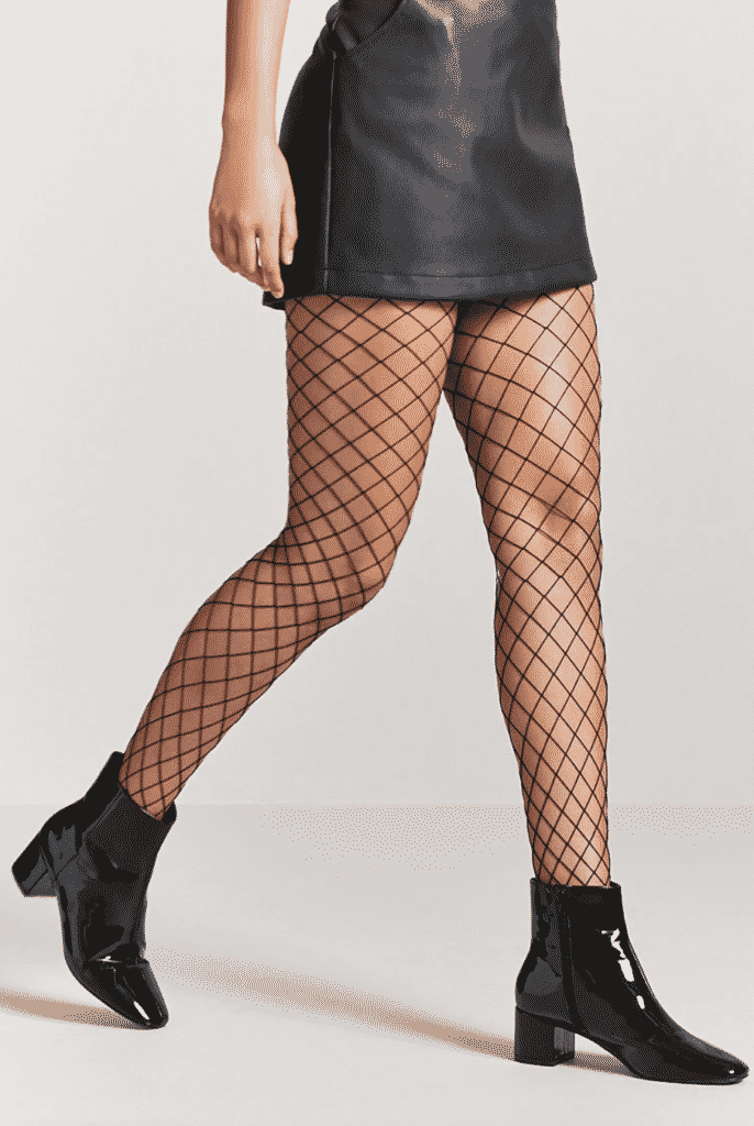 Fishnet tights from Forever 21