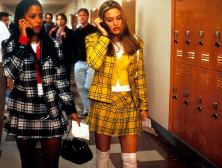 Clueless style: Cher and Dionne in plaid outfits