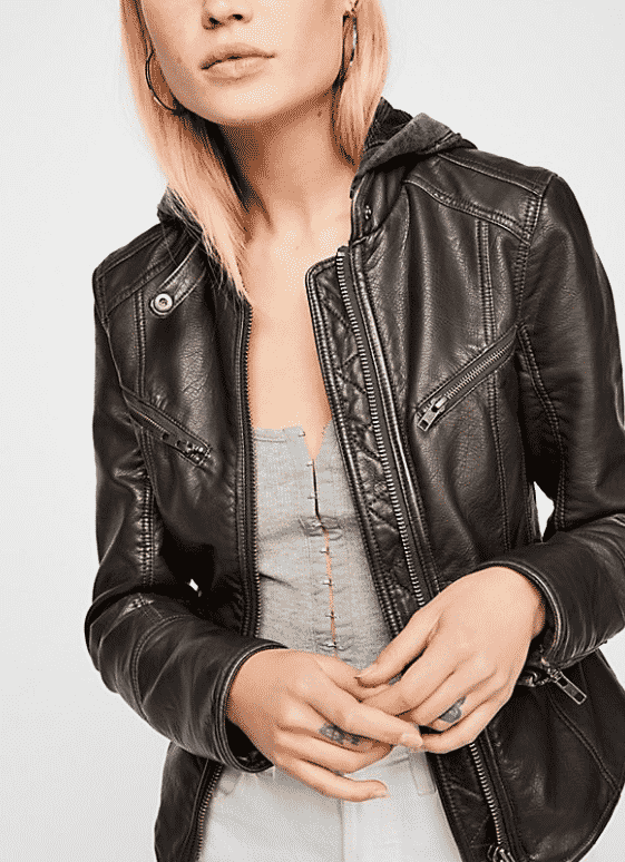 7 Things To Buy Instead of Another Fast Fashion Top, College Fashion, Leather Jacket