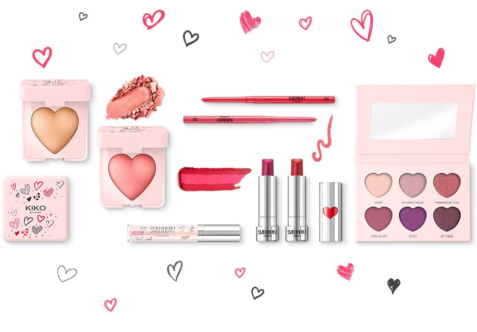 kiko cosmetics valentine's day collection