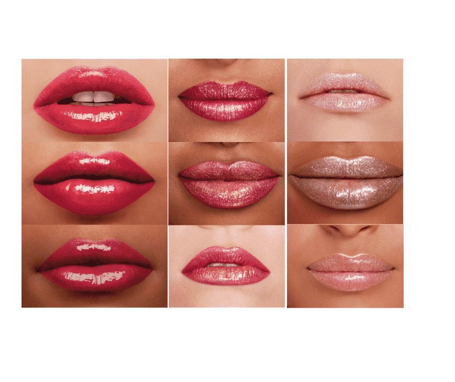 Bright lip colors