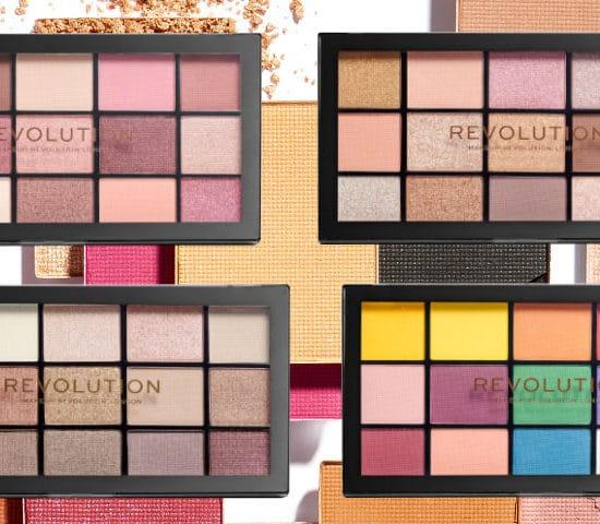 Makeup revolution eyeshadow palettes