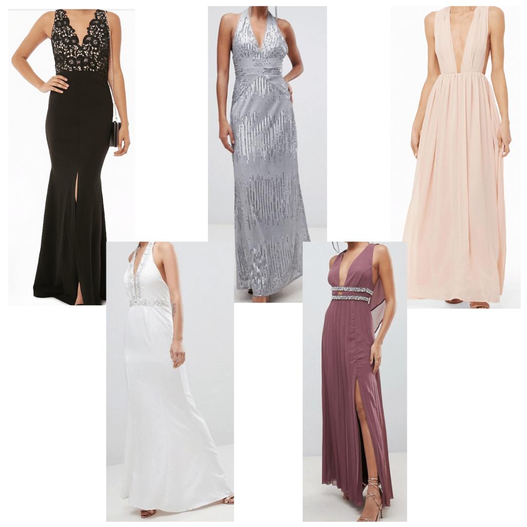 Metallic formal dresses to emulate Margot Robbie's 2019 SAG awards dress
