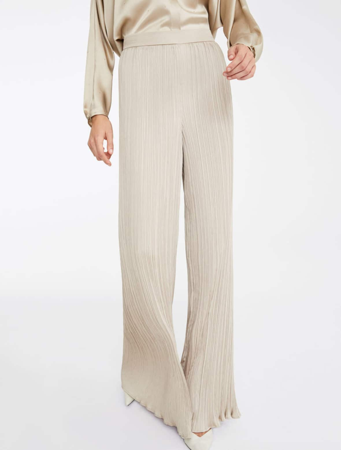 Max Mara pleated pants