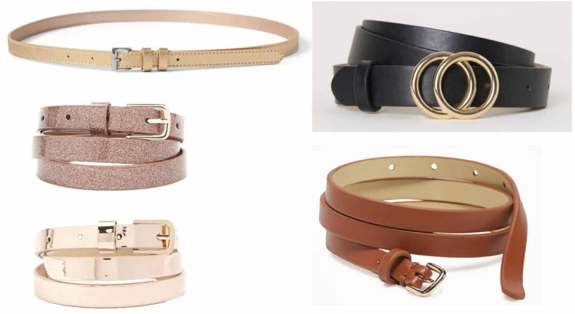 Preppy style must-haves -- skinny belts