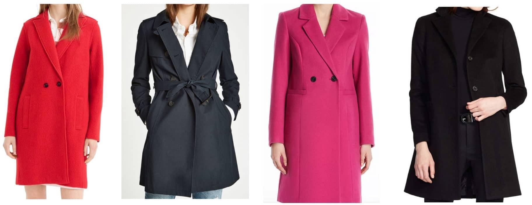Preppy style coats