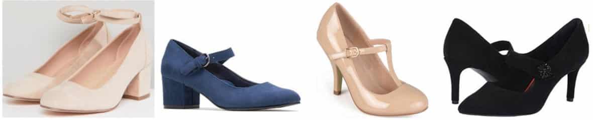 Preppy style 101: Mary Jane heels