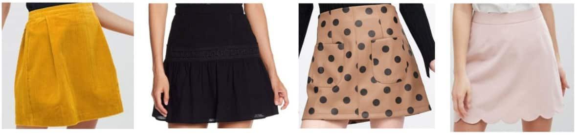 Preppy style 101: Mini skirts