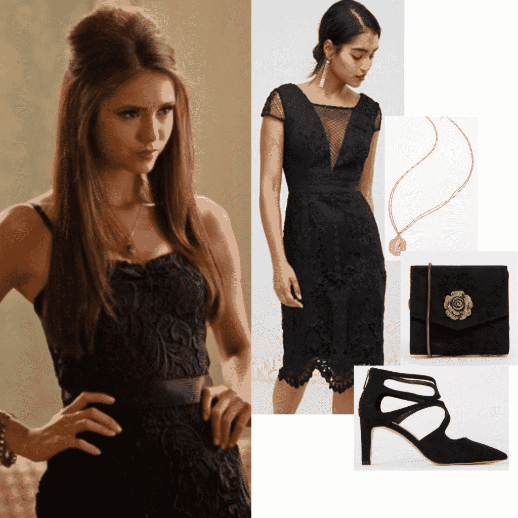 Katherine Pierce style from The Vampire Diaries