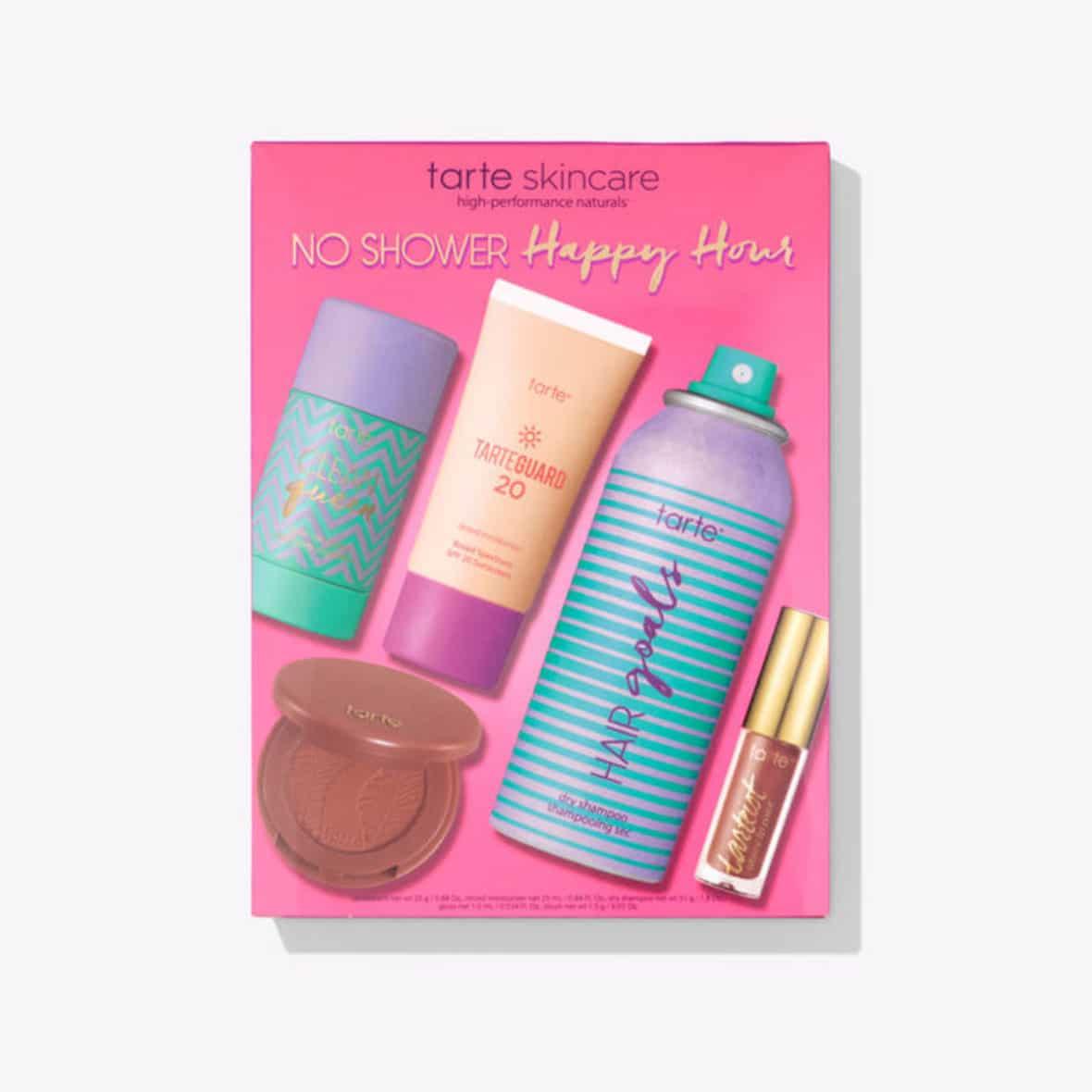 Tarte Cosmetics No Shower Happy Hour set