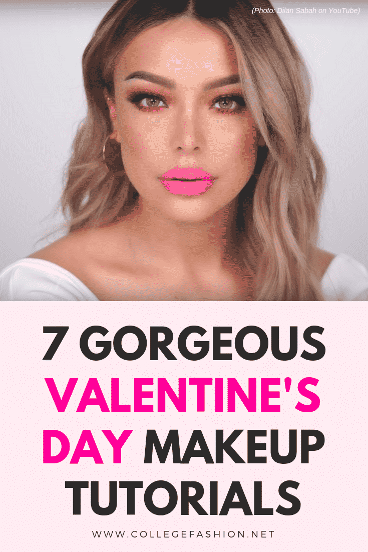 Valentine's Day makeup tutorials - best tutorials to try for V-day