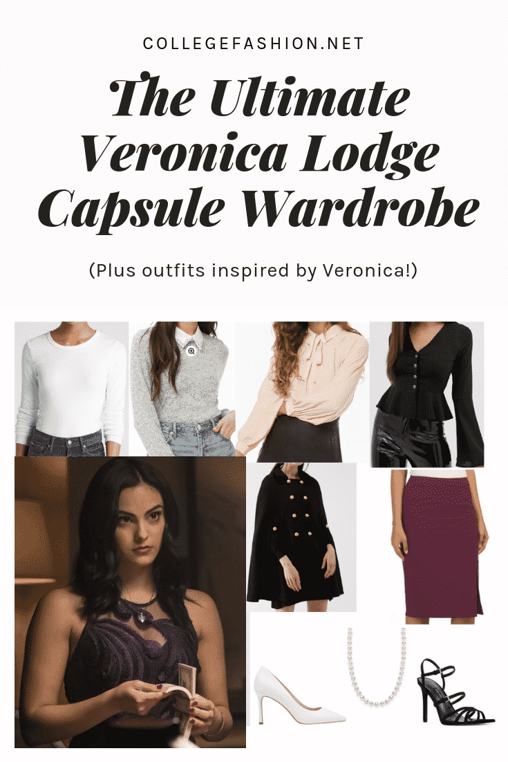Veronica Lodge style - the ultimate Veronica Lodge wardrobe and outfit ideas inspired by Veronica