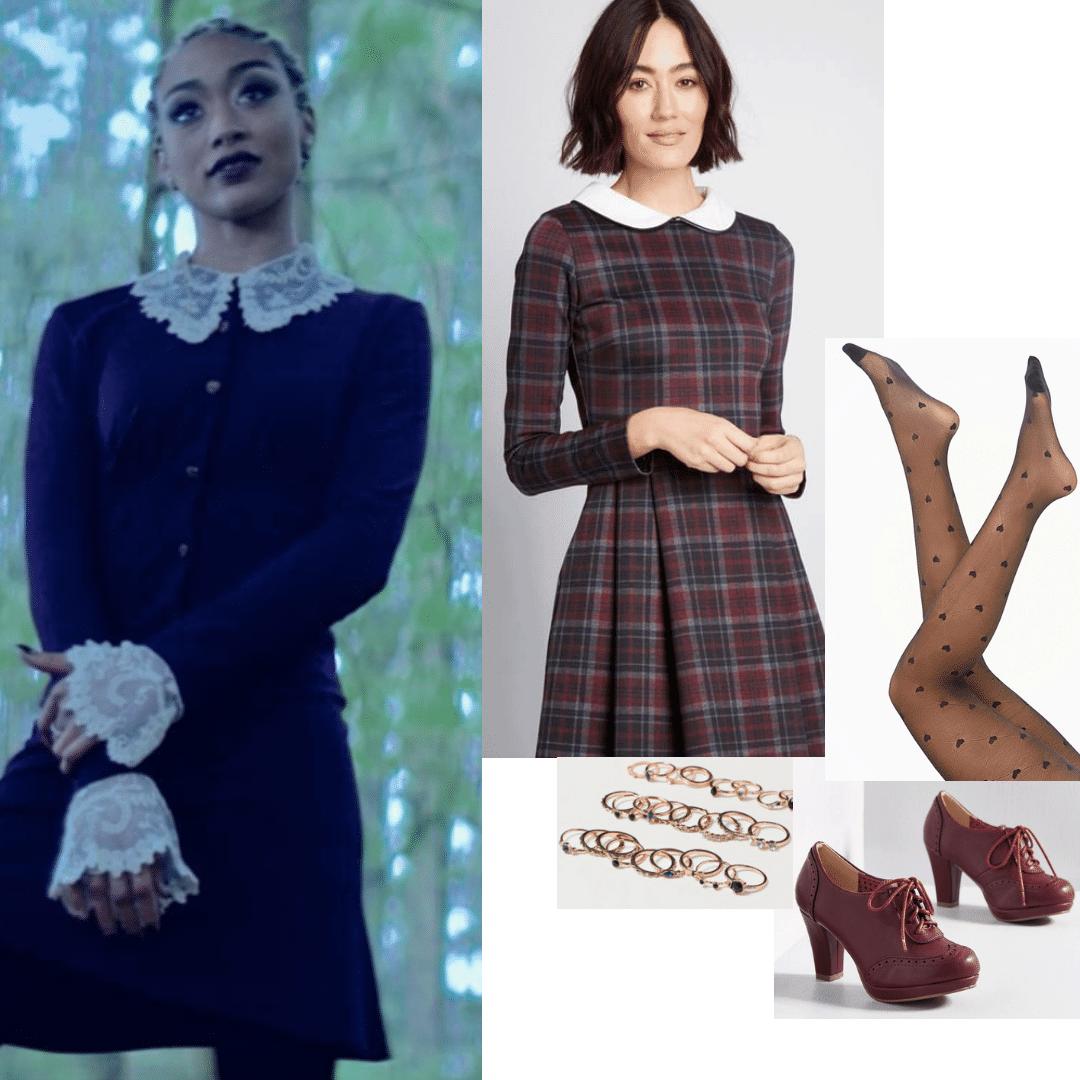 Weird Sisters Sabrina Outfits 2