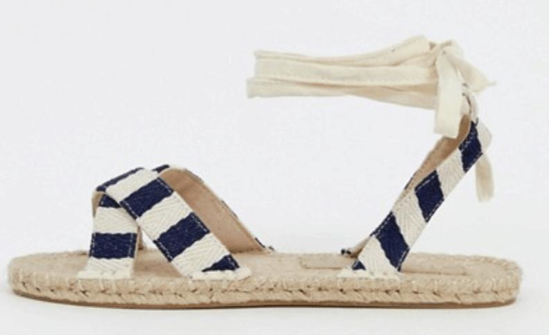 Jala Espadrille Flat Sandals